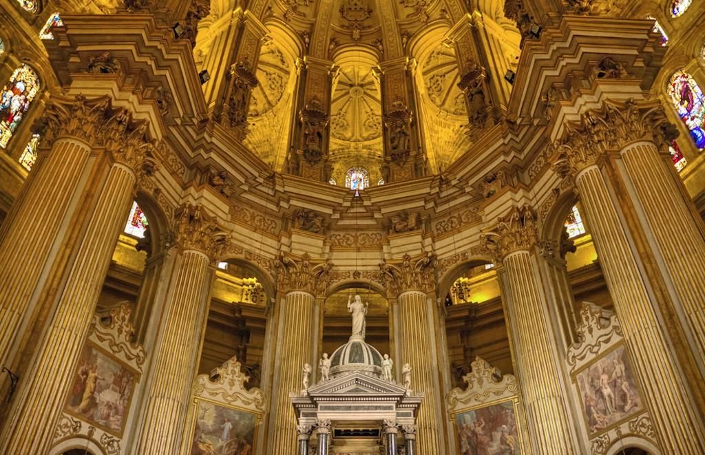 Malaga Cathedral Cool Spots Around Malaga.