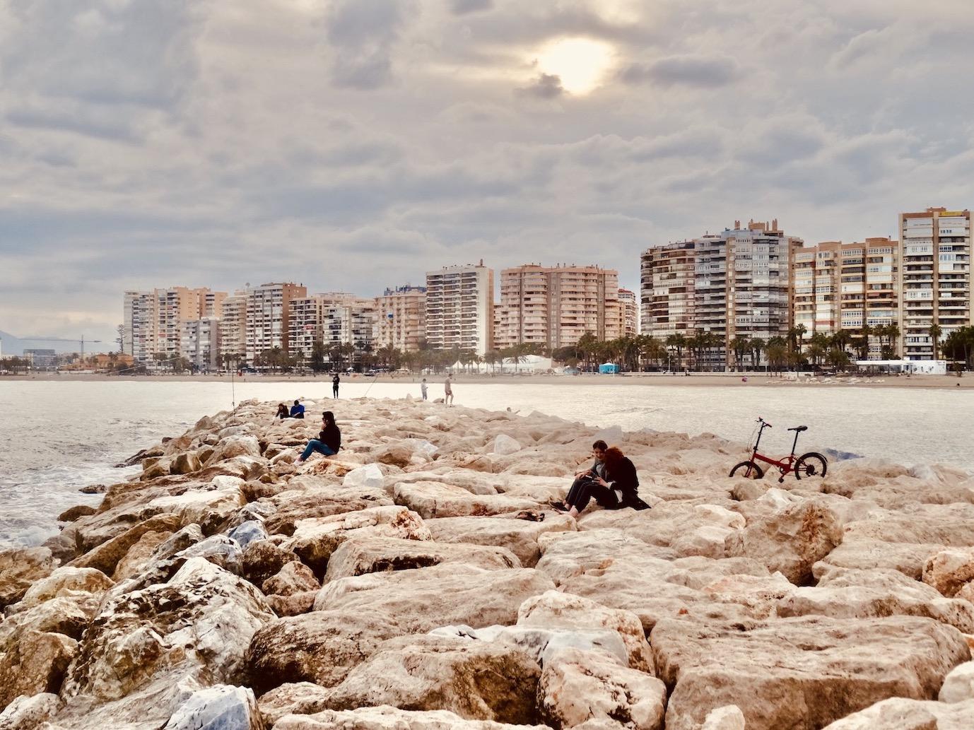 Malagueta Beach.
