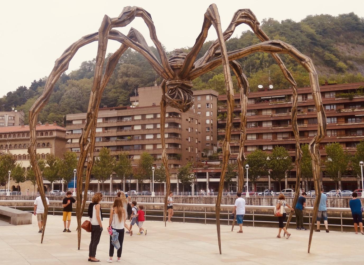 Maman Spider Sculpture Bilbao.