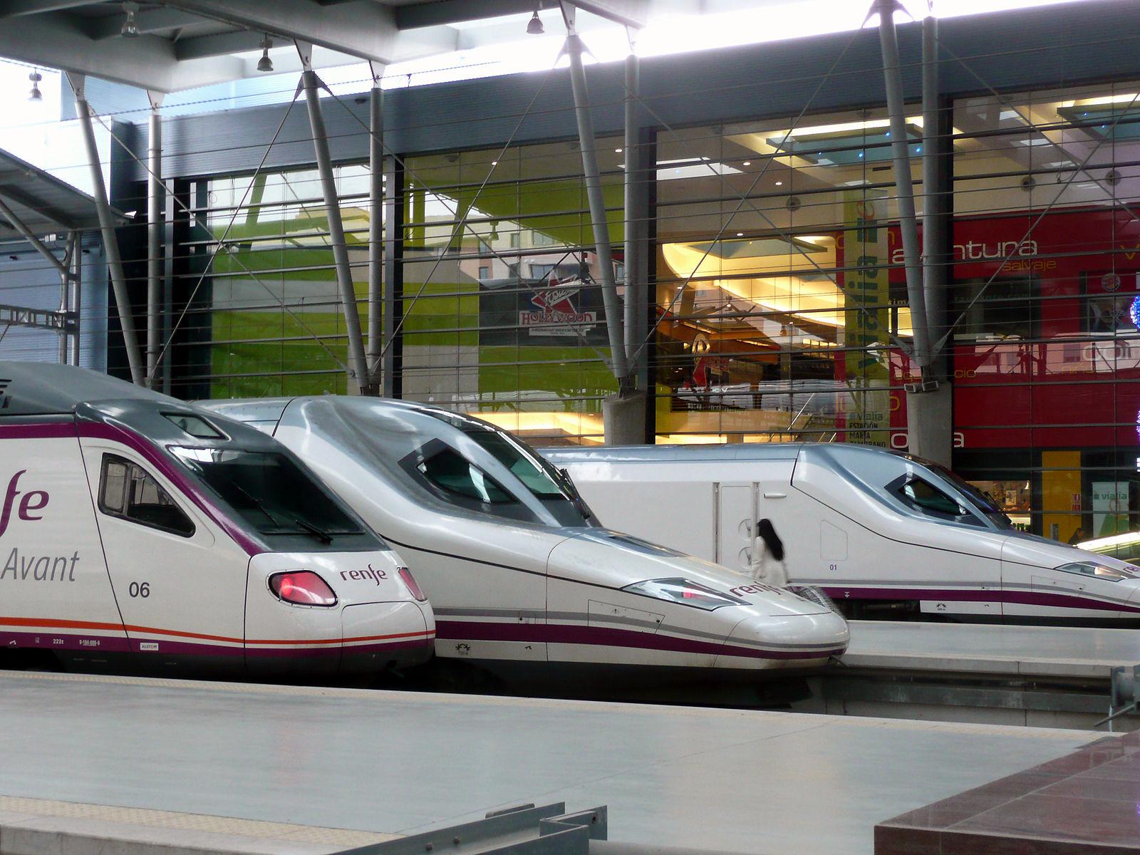 Maria Zambrano Railway Station Malaga.