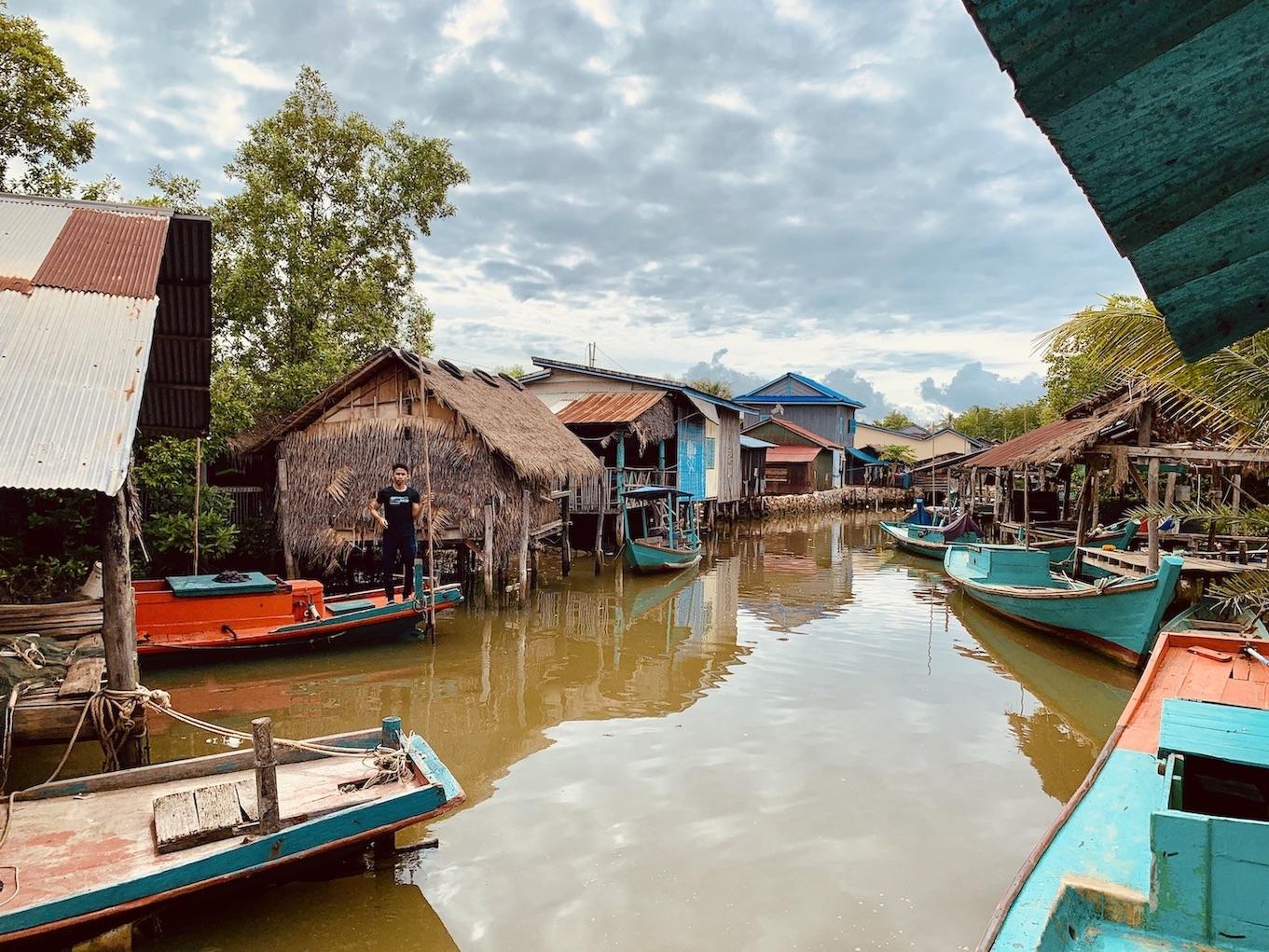 Muslim Fishing Village Cool Spots Around Kampot