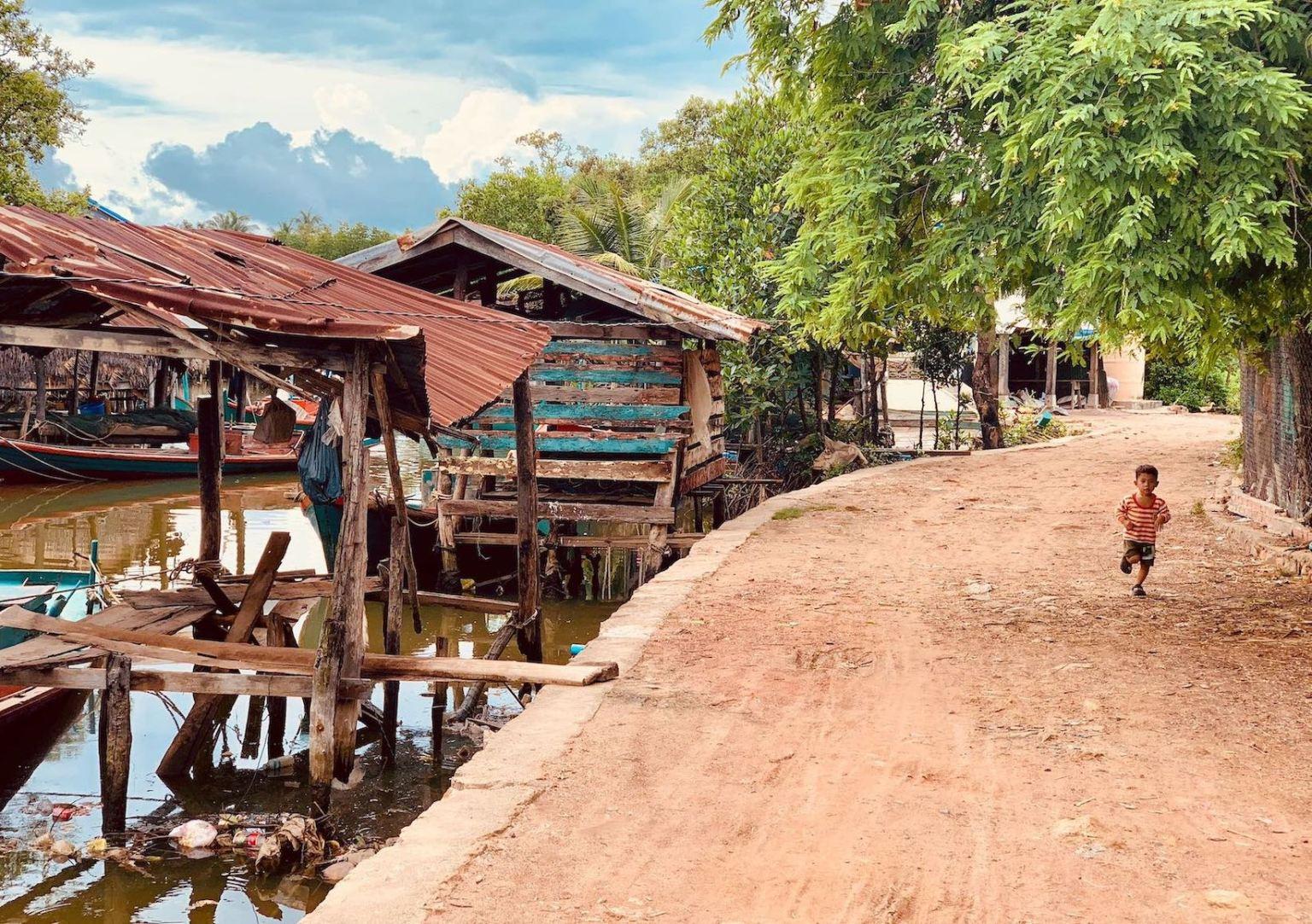 Muslim Fishing Village Kampot.