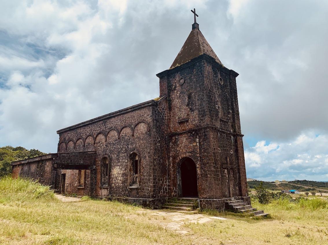 Old Catholic Church Bokor National Park
