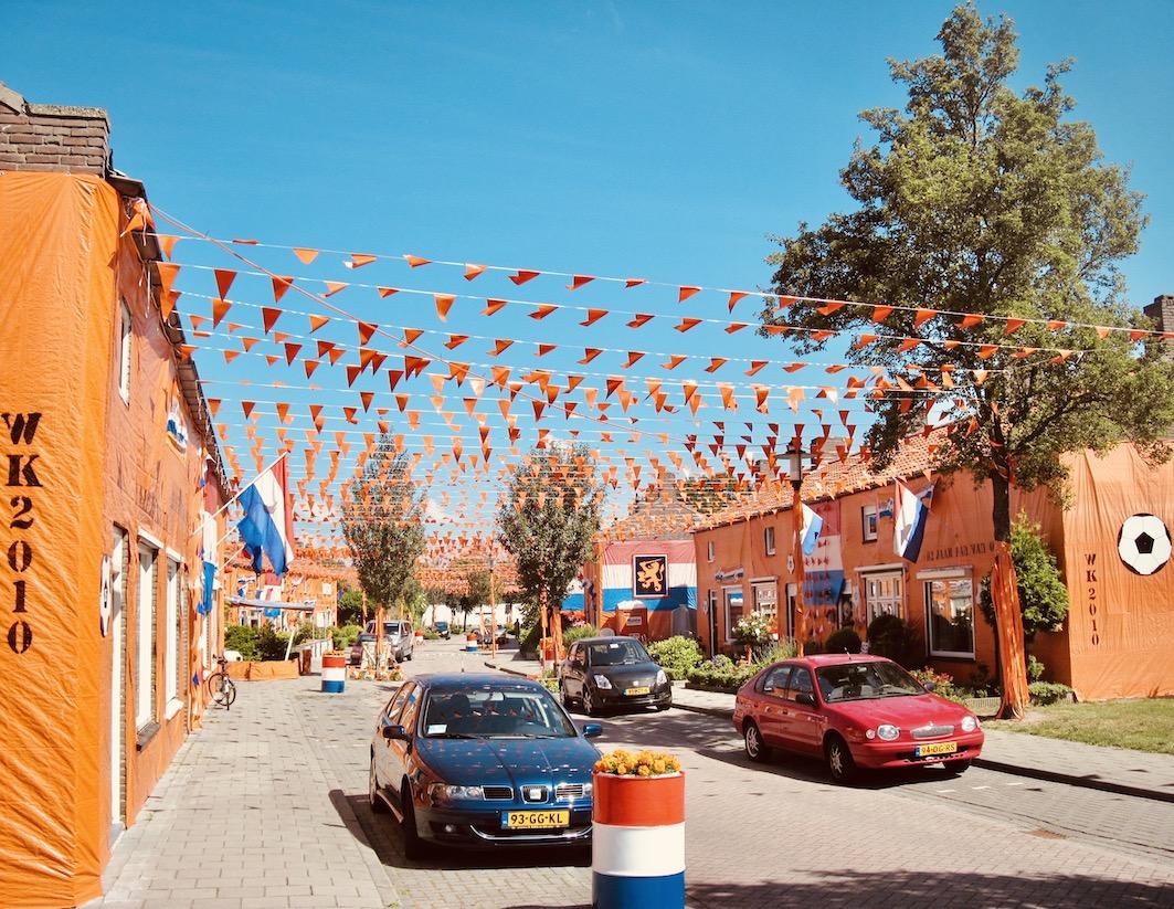 Orange street Goirle The Netherlands.