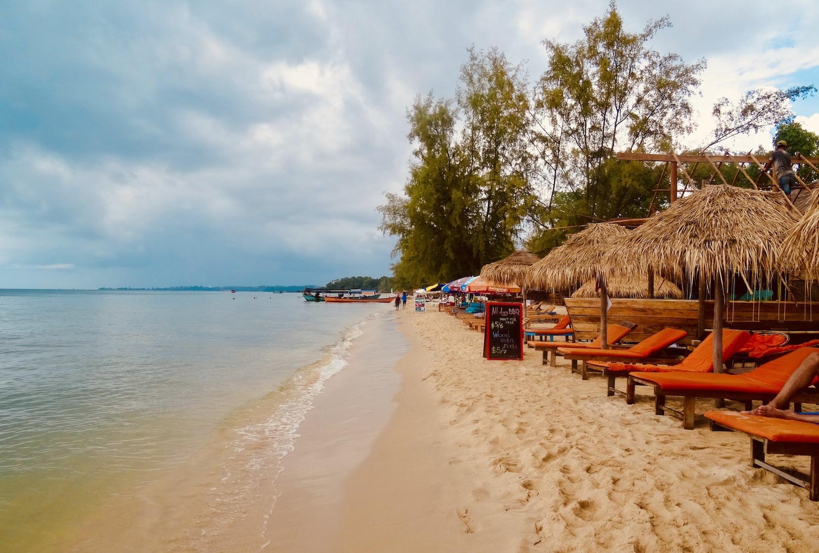 Otres Beach 1 Sihanoukville Cambodia.