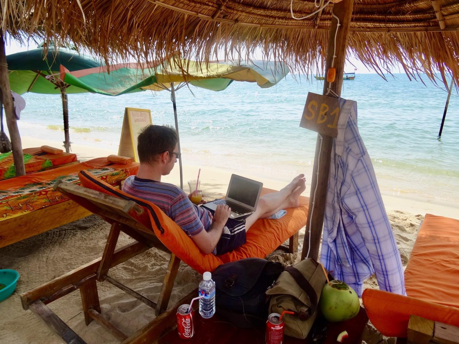 Otres Beach Sihanoukville Cambodia.