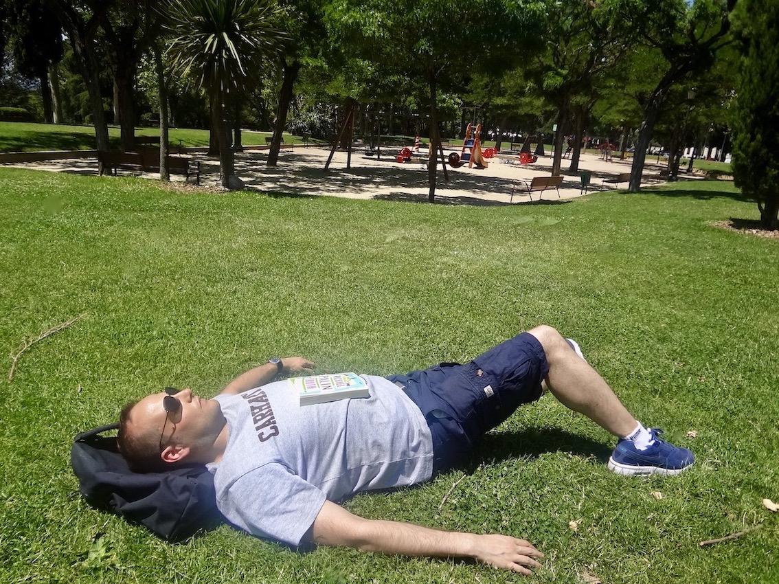 Parque del Oeste Madrid.