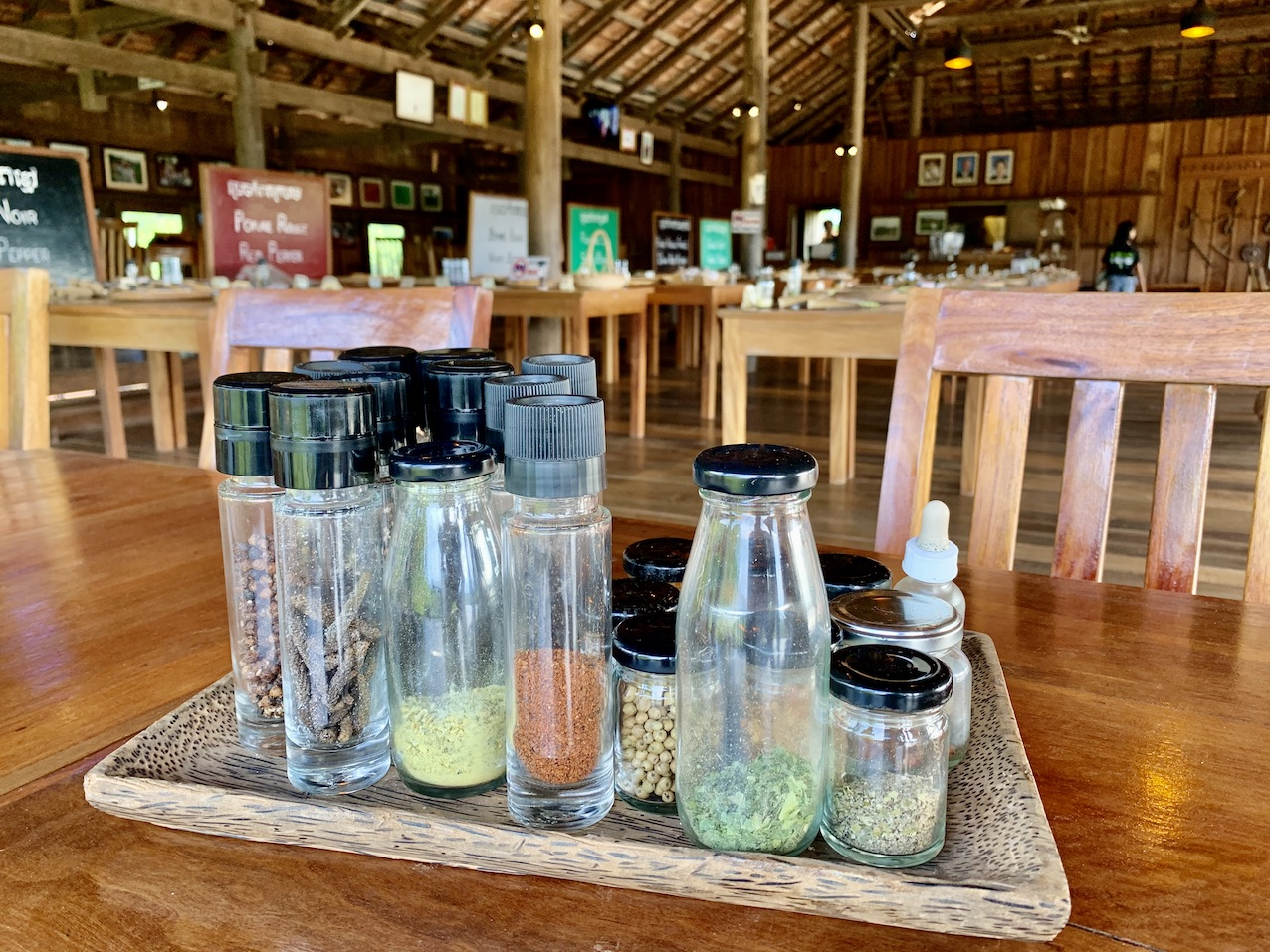 Pepper Tasting La Plantation Kampot.
