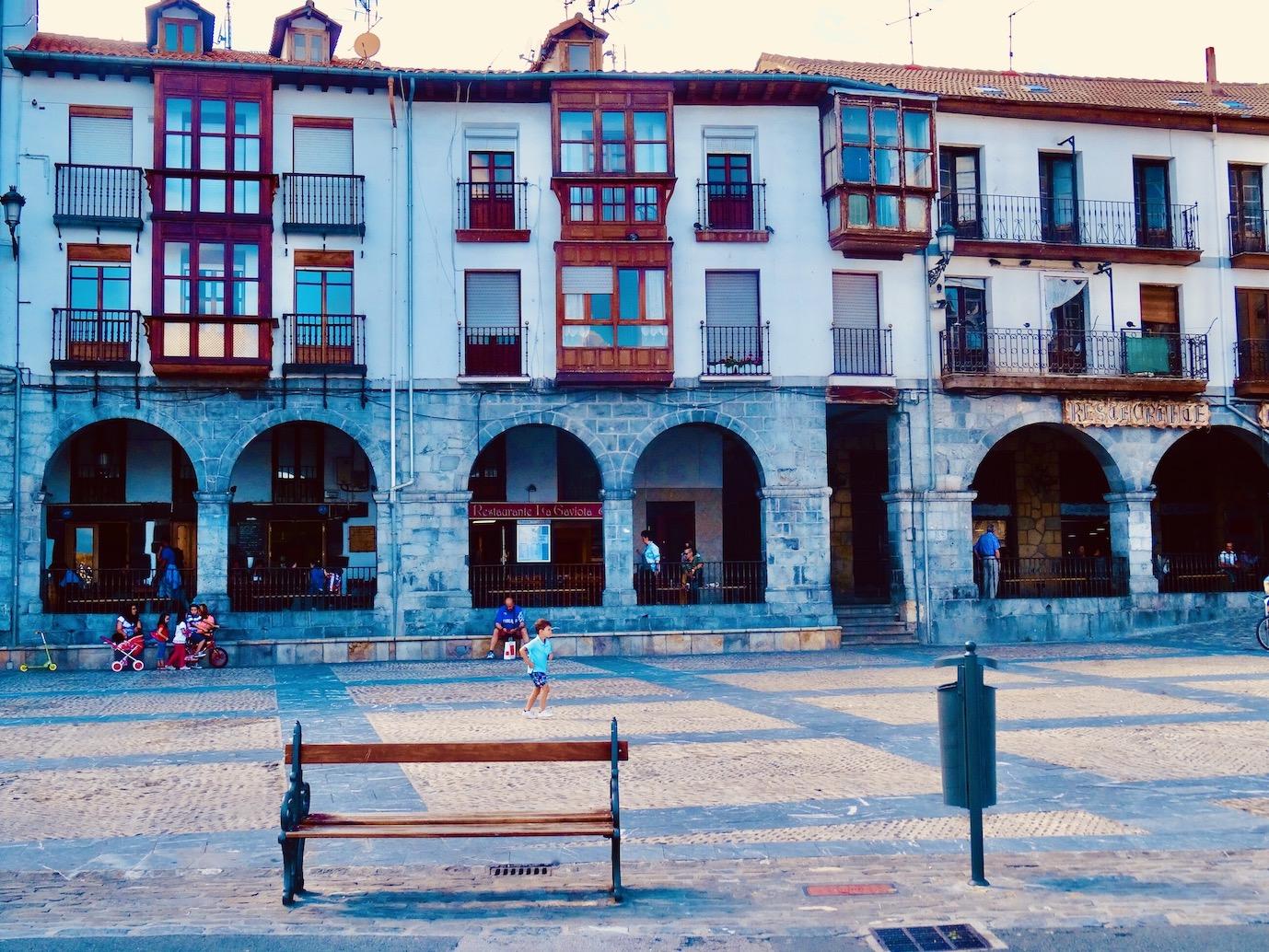 Plaza Del Ayuntamiento Castro Urdiales.