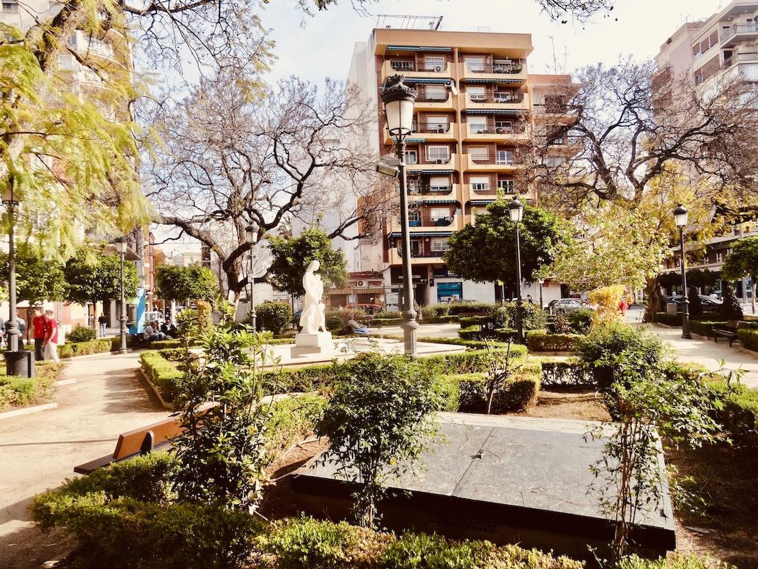Plaza Victoria Malaga.