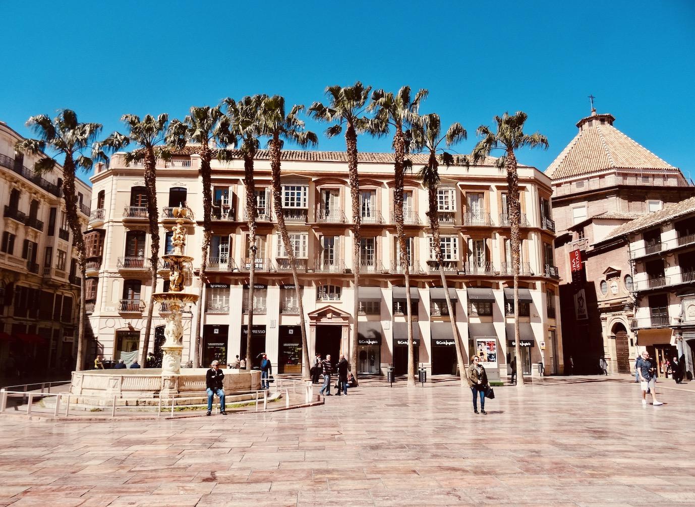 Plaza de la Constitucion Malaga.