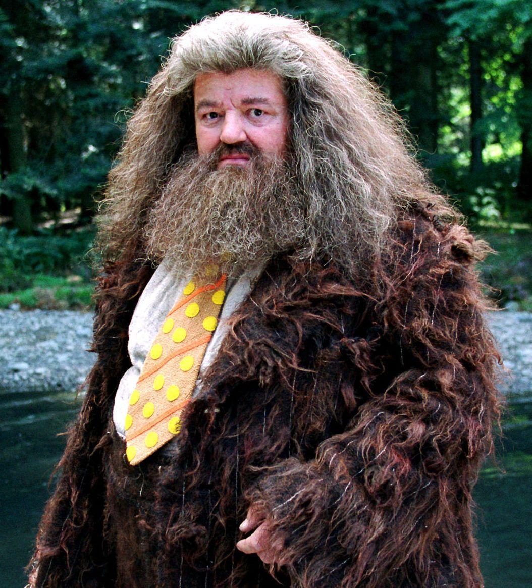 Rubeus Hagrid.