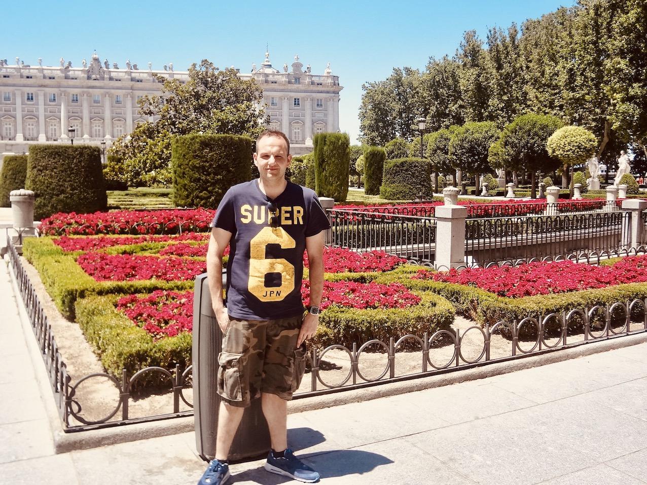 Sabatini Gardens Madrid.