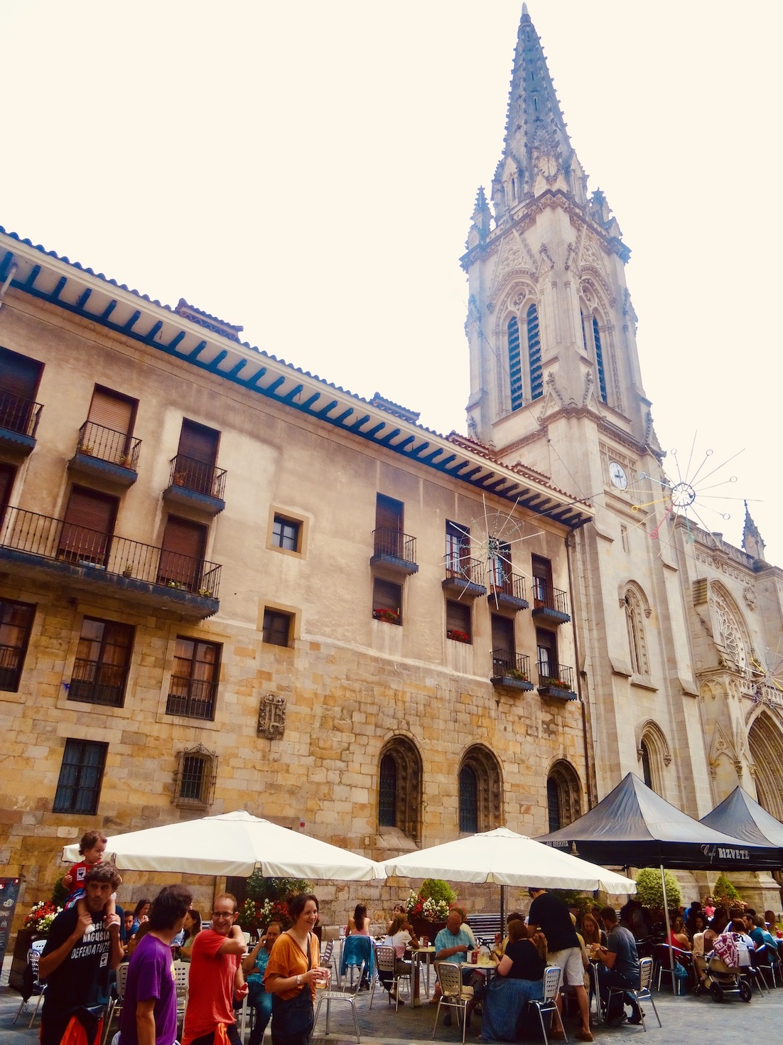 Santiago Cathedral Bilbao Spain.