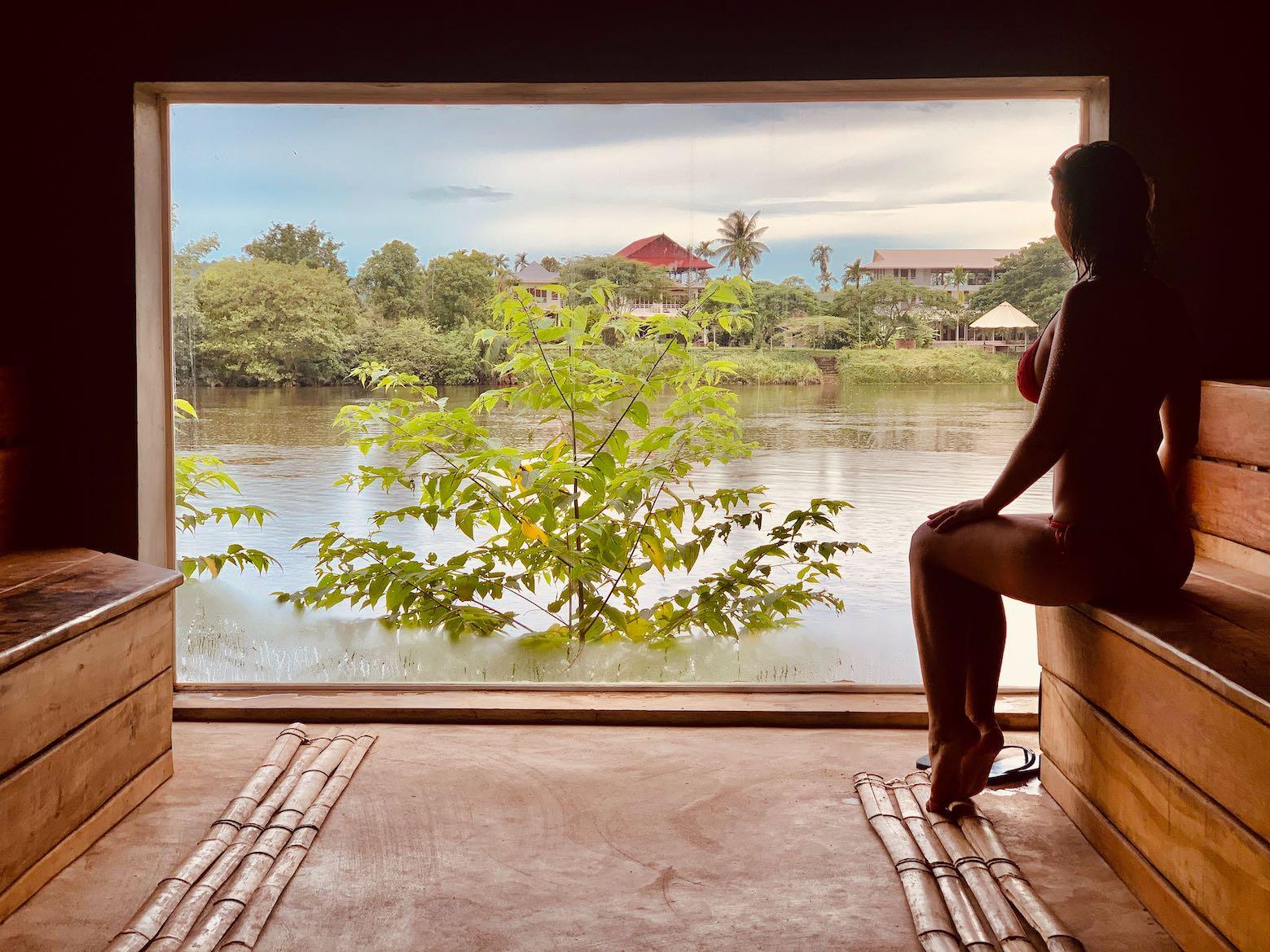 Sauna Nibi Spa Kampot.