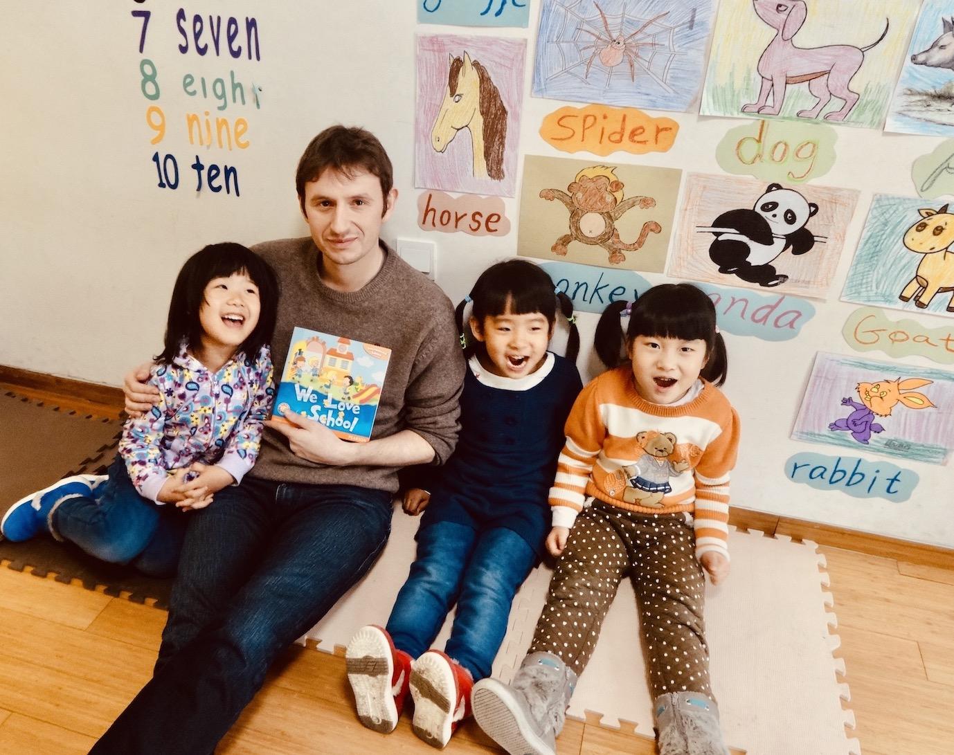 Teaching English in Beijing February 2014.