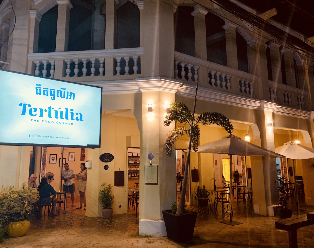 Tertulia Restaurant Where to Eat and Drink in Kampot