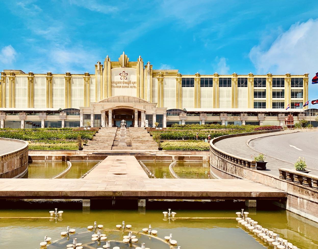 Thansur Sokha Hotel Bokor National Park.