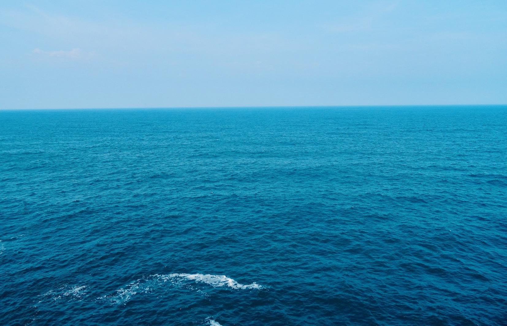 The Cantabrian Sea.