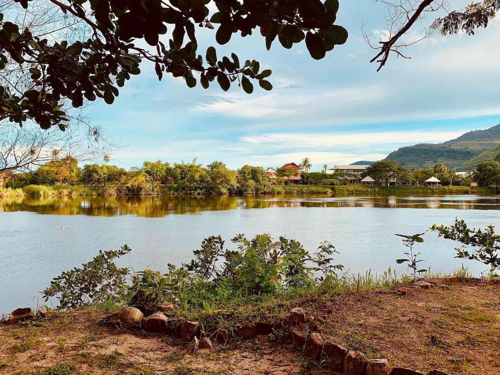 The Kampot River Cambodia.
