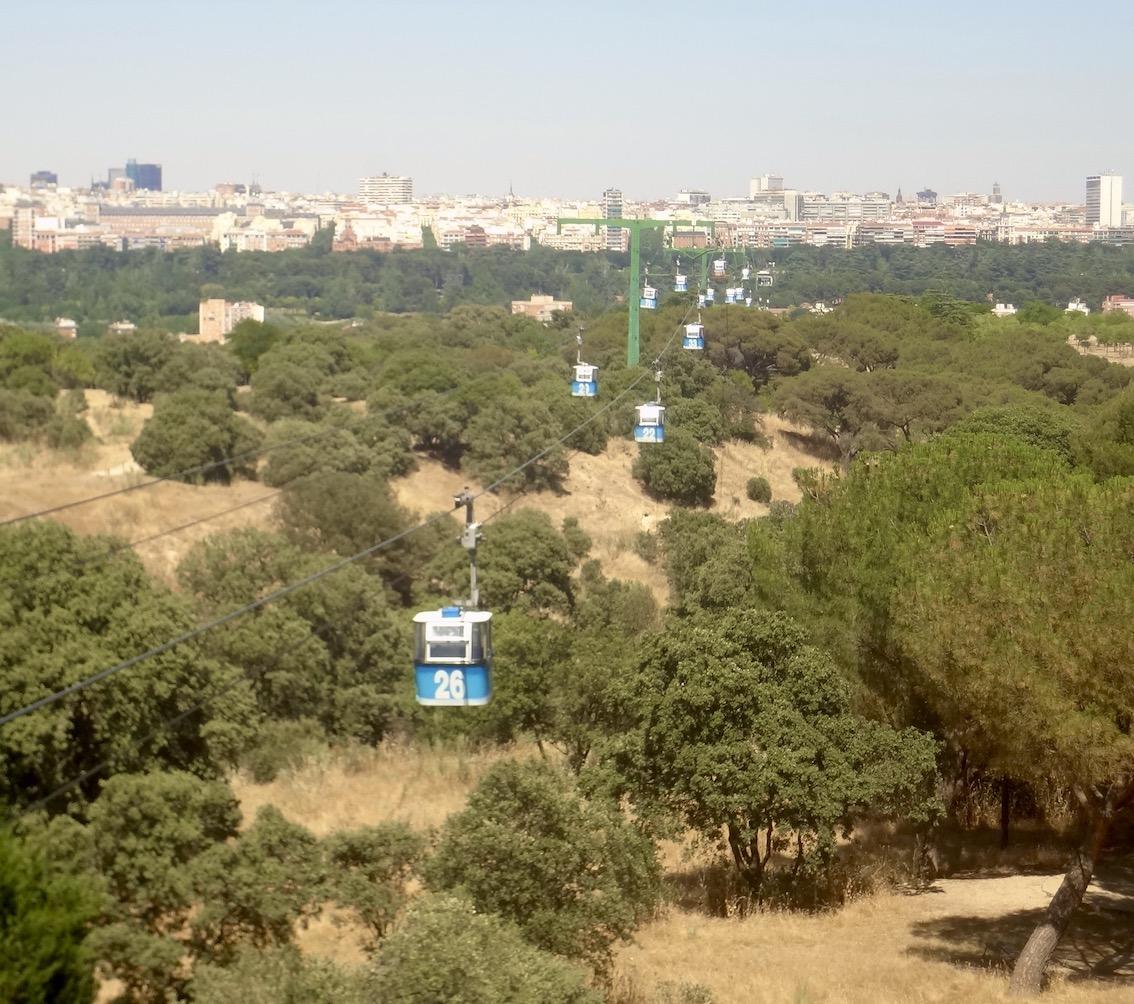The Madrid Cable Car Casa de Campo