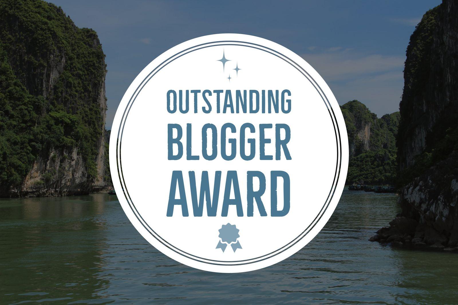 The Outstanding Blogger Award Leighton Travels