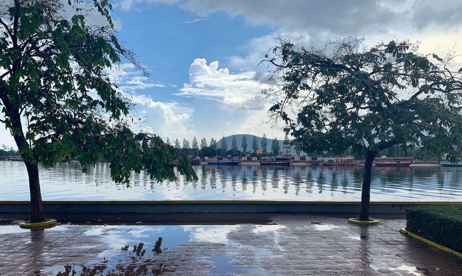 The Praek Tuek Chhu River Kampot.