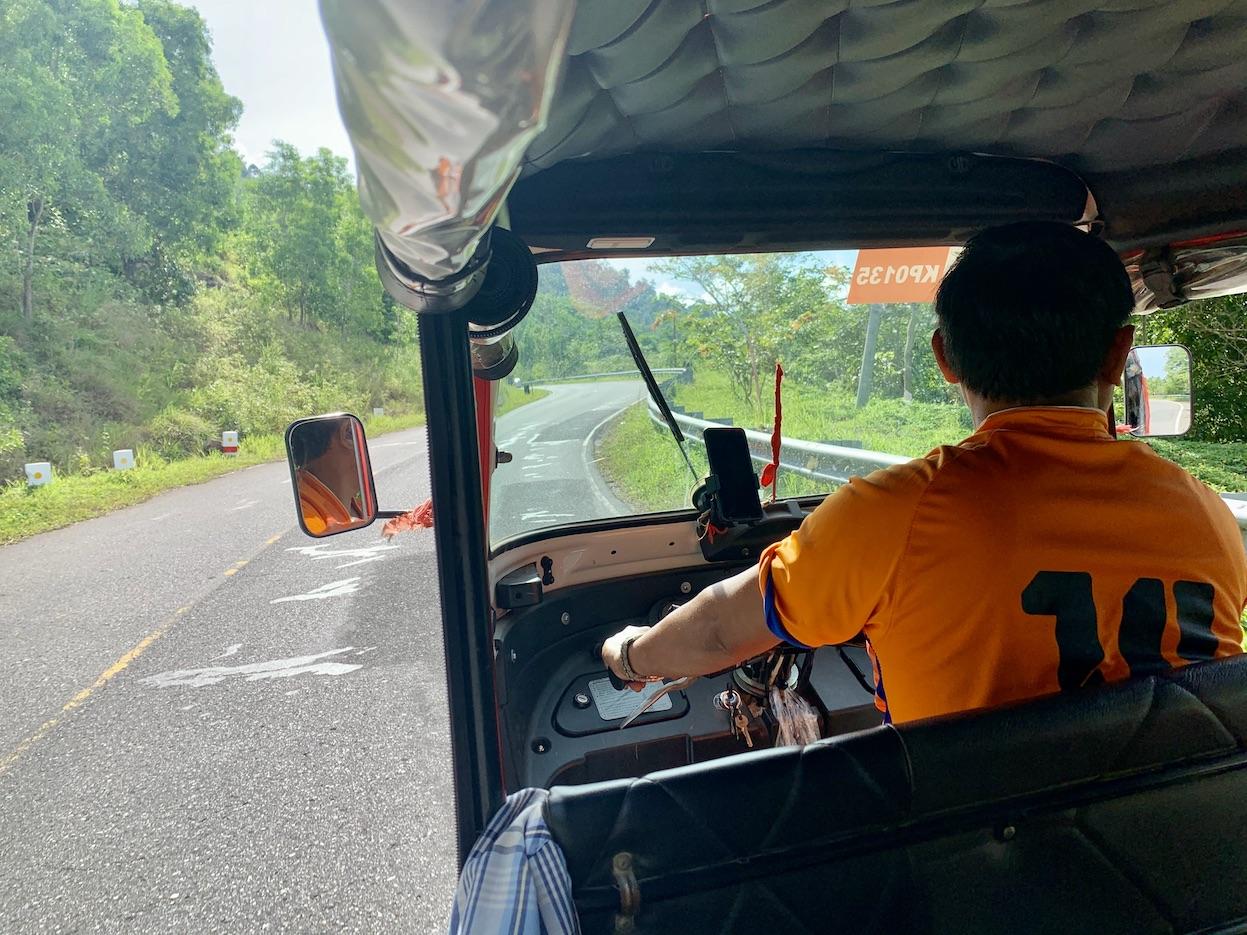 Tuk Tuk tour Bokor National Park.