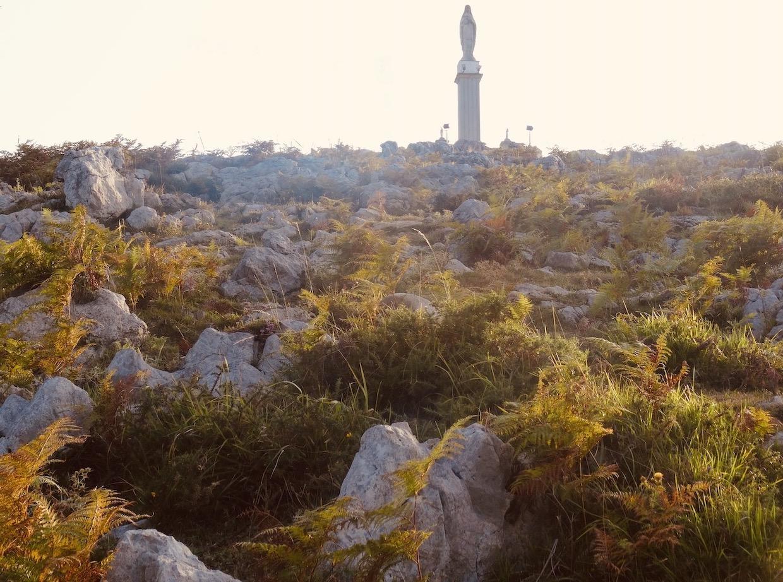 Virgin Mary Statue Castro Urdiales