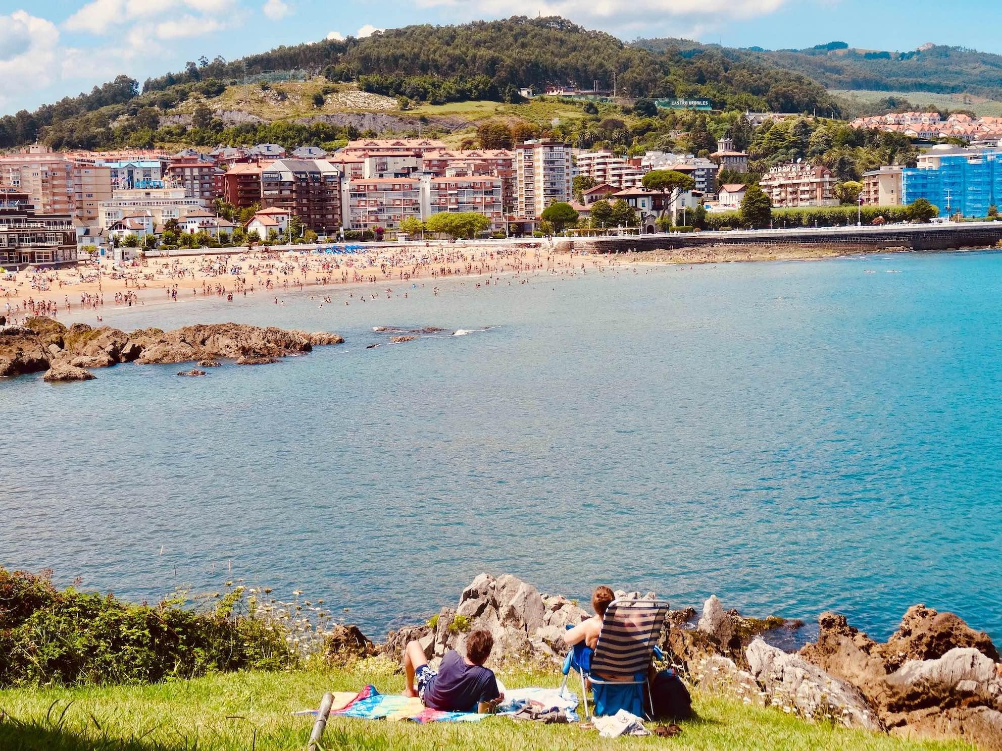 Visit Castro Urdiales Spain.