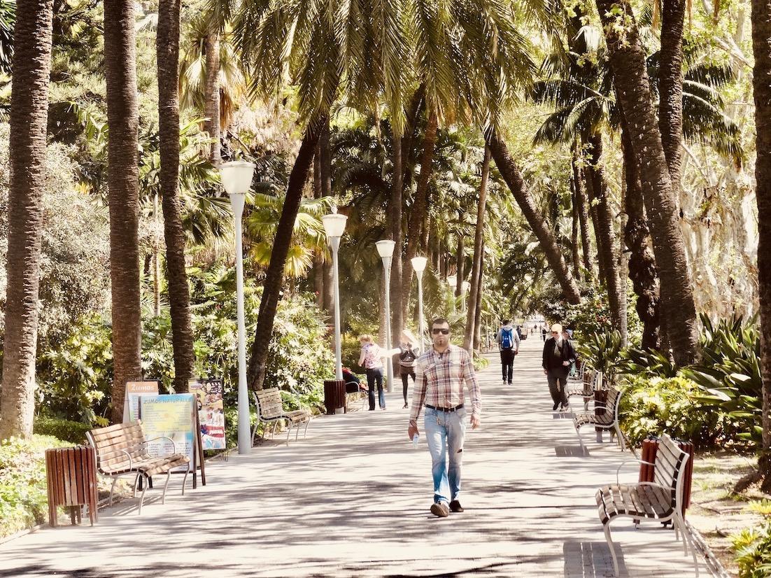 Visit Malaga El Parque de Malaga.