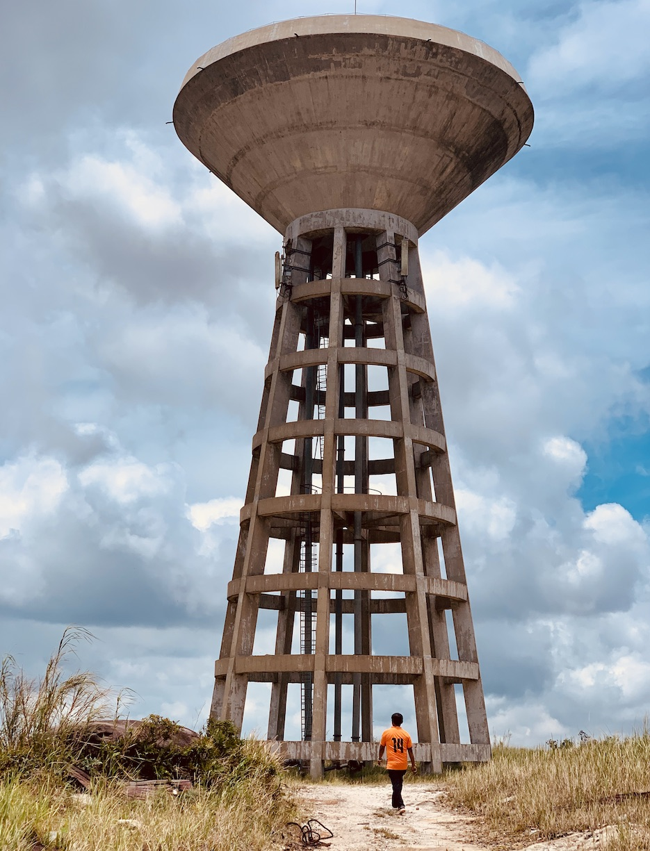 Water Tower Bokor National Park.