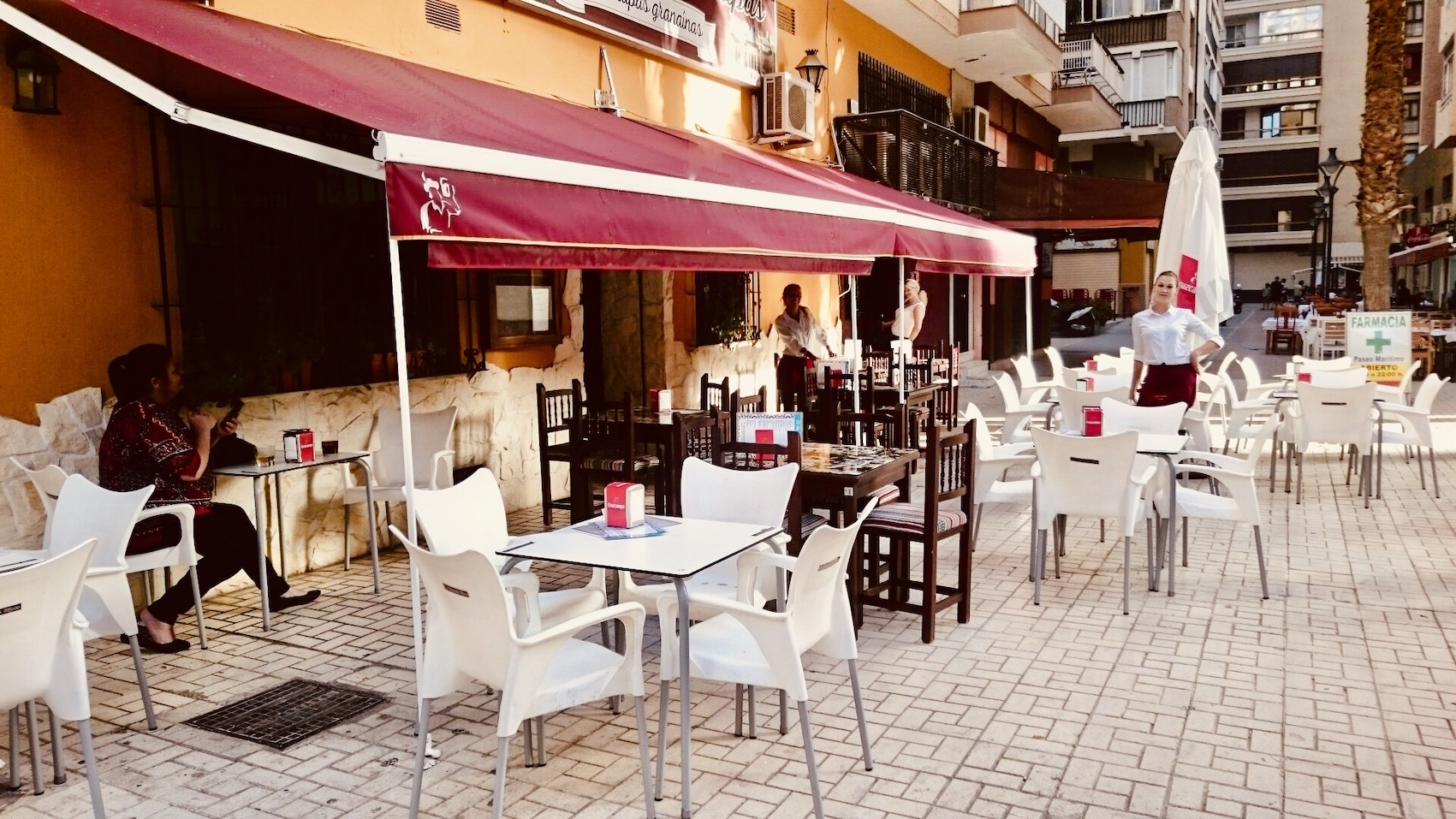 Where to Eat and drink Malaga Spain.