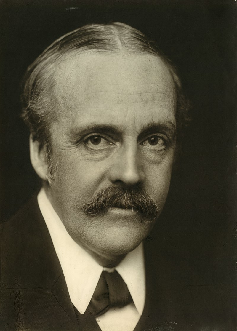 Arthur James Balfour former British Prime Minister