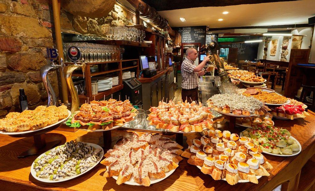 Bar Aralar San Sebastian.