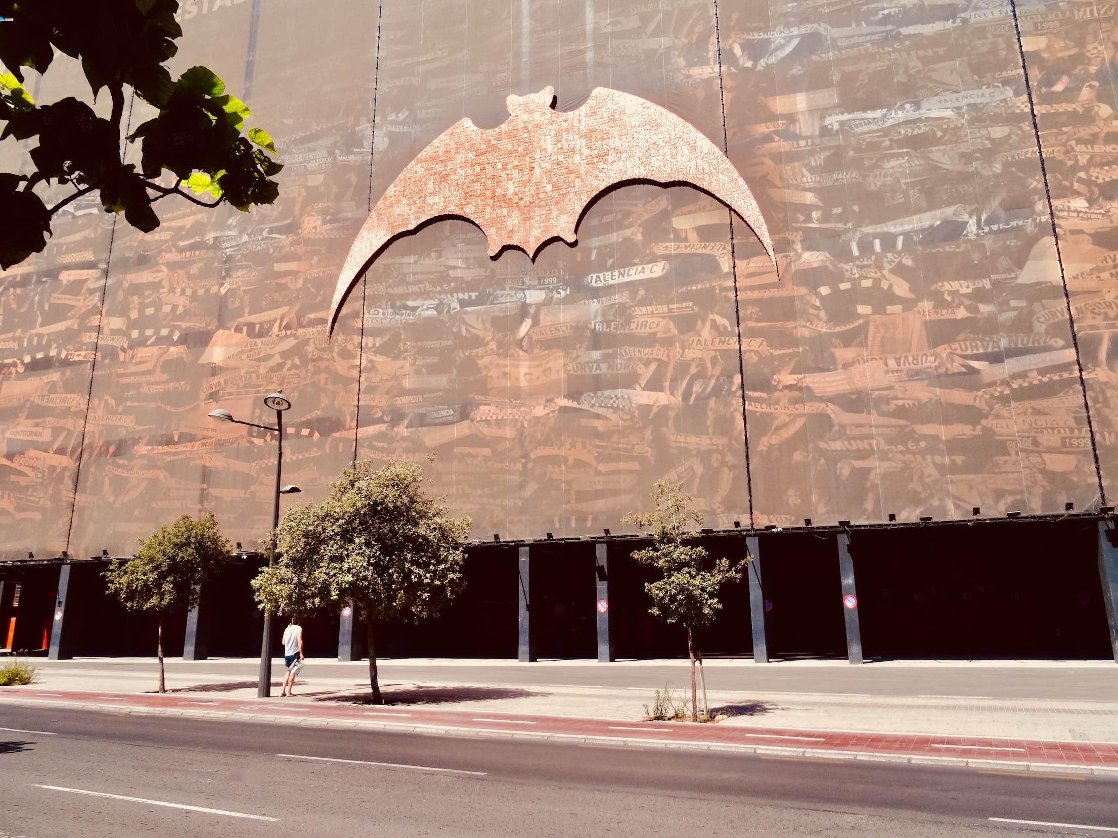 Bat symbol Valencia Football Club.