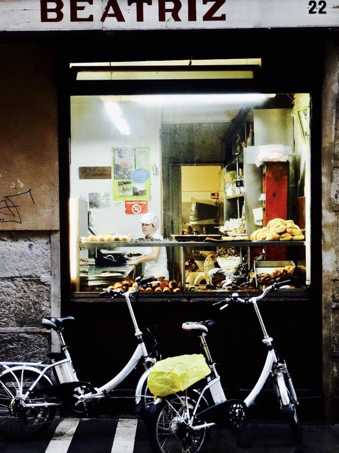 Beatriz Bakery Pamplona Spain.