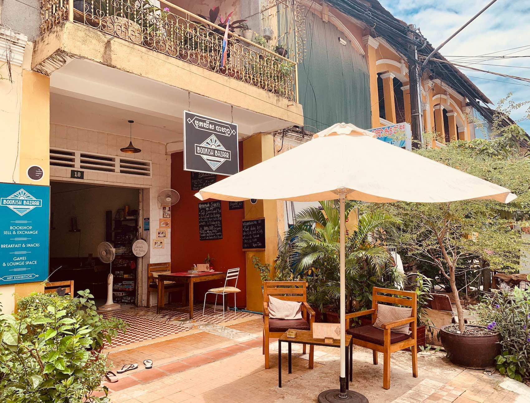 Bookish Bazaar Kampot Cambodia.
