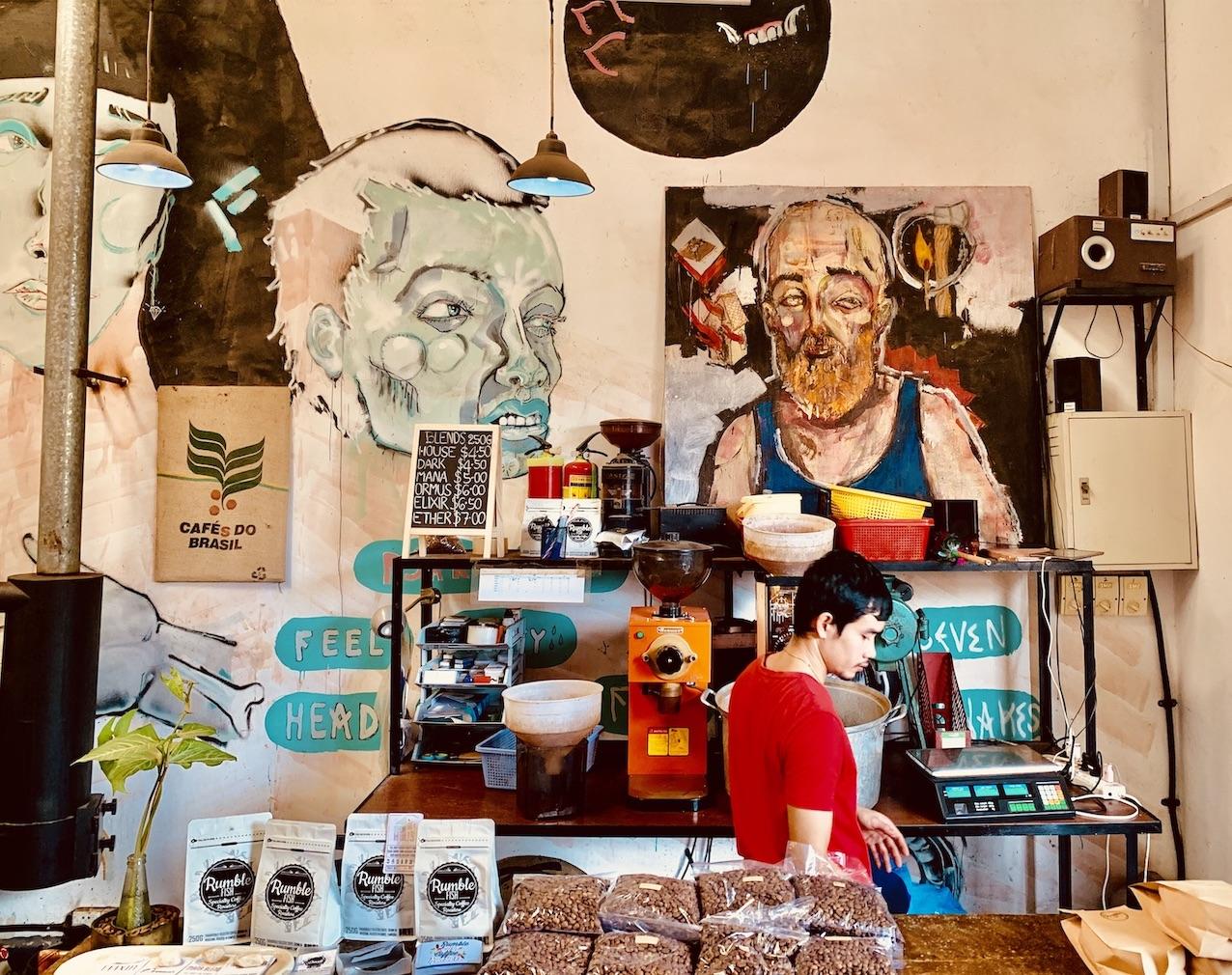 Cafe Espresso in Kampot.