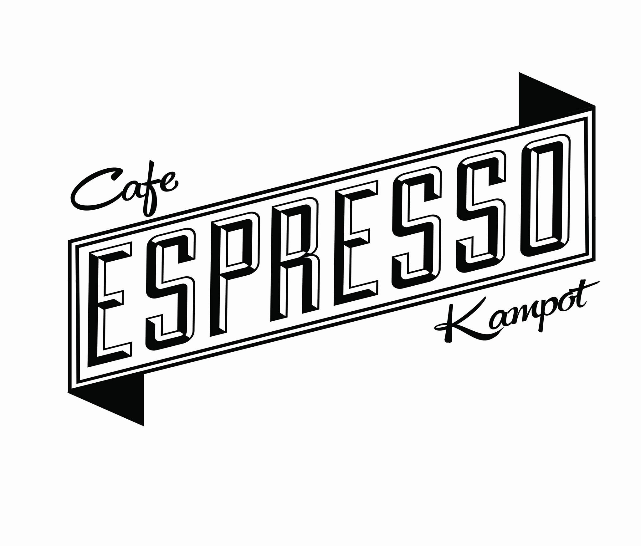 Cafe Espresso logo Kampot Cambodia