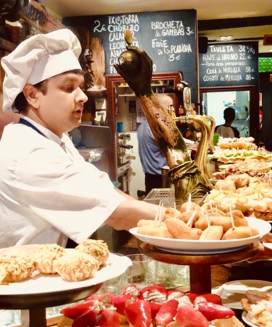 Chef Bar Aralar.