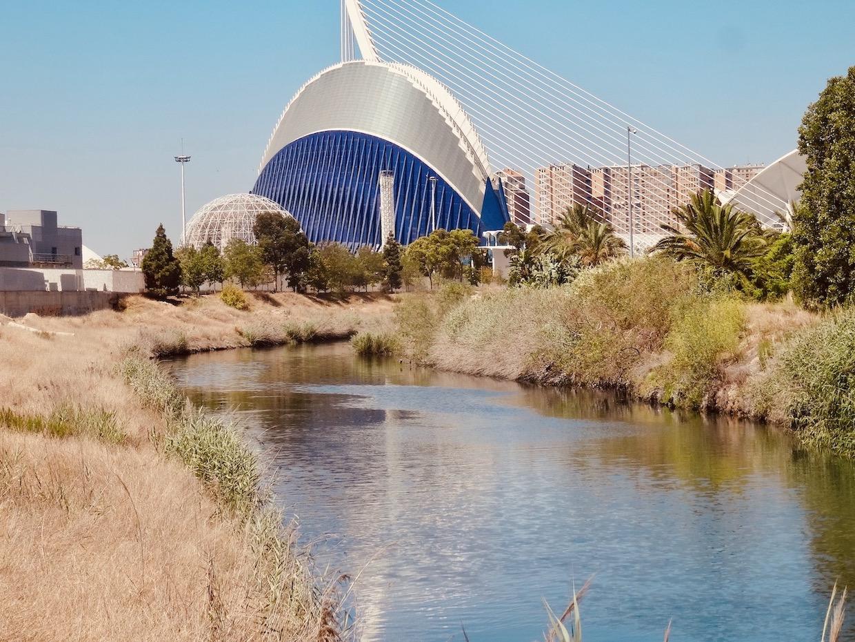 City of Arts and Sciences Turia Gardens Valencia