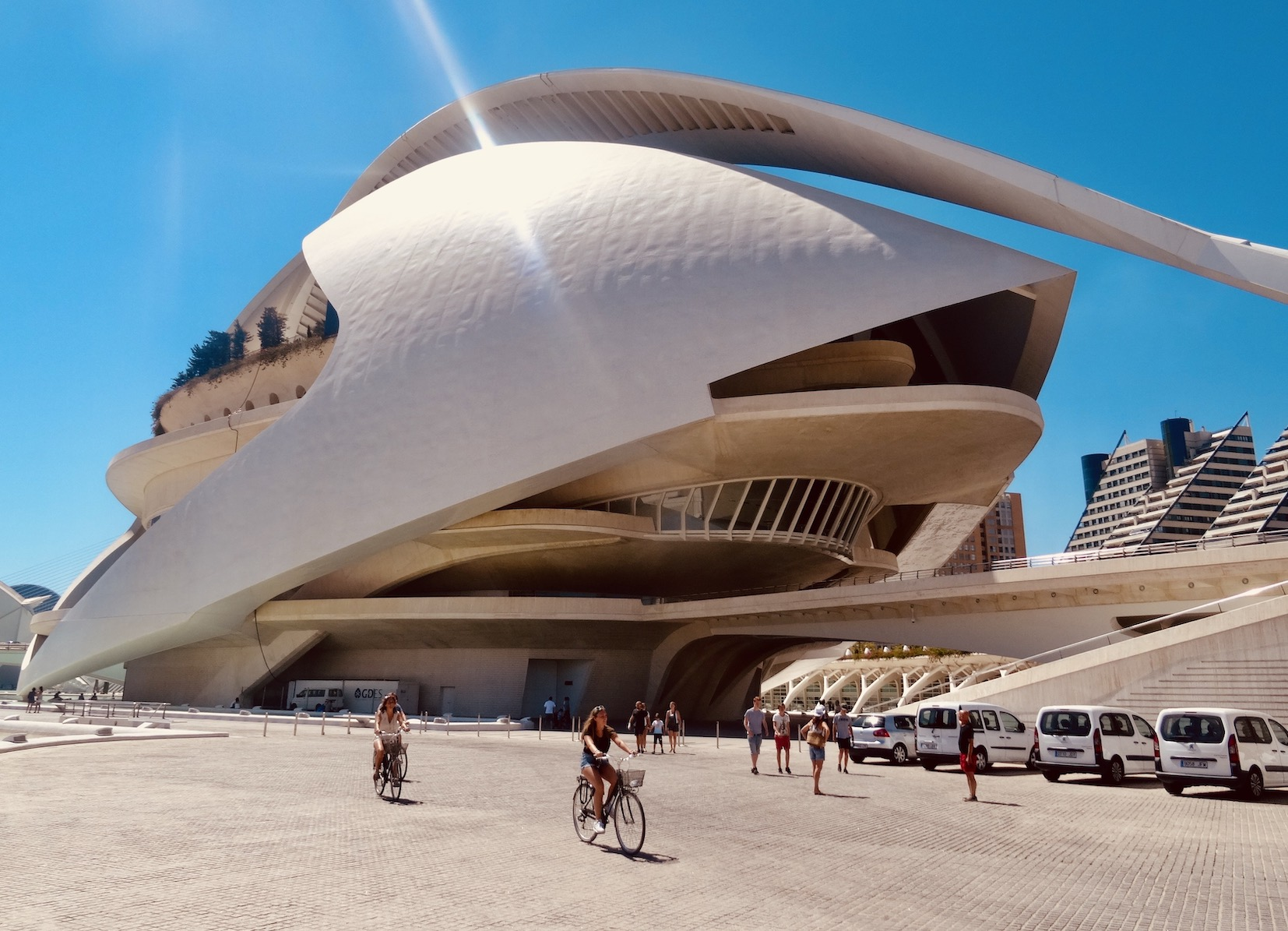 City of Arts and Sciences Valencia.
