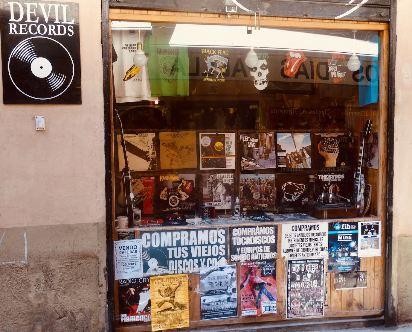 Devil Records Valencia Spain.