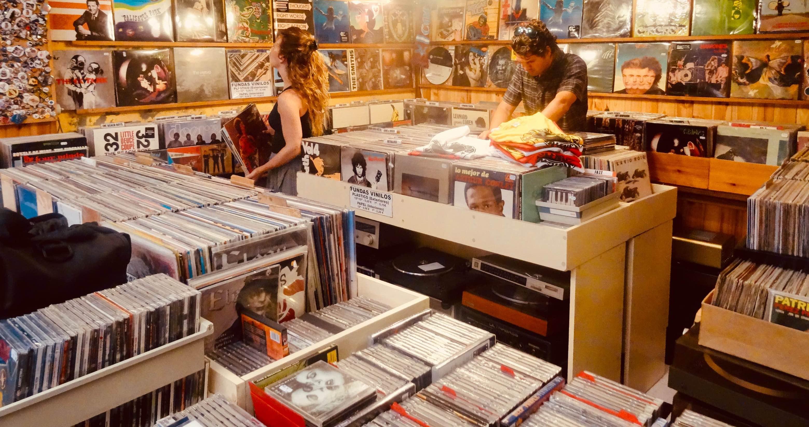 Devil Records in Valencia.