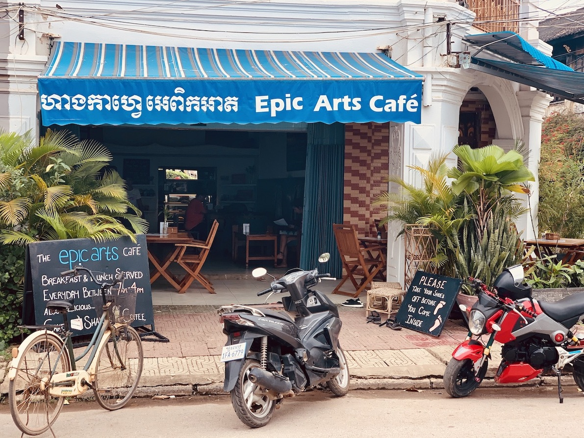 Epic Arts Cafe Kampot.