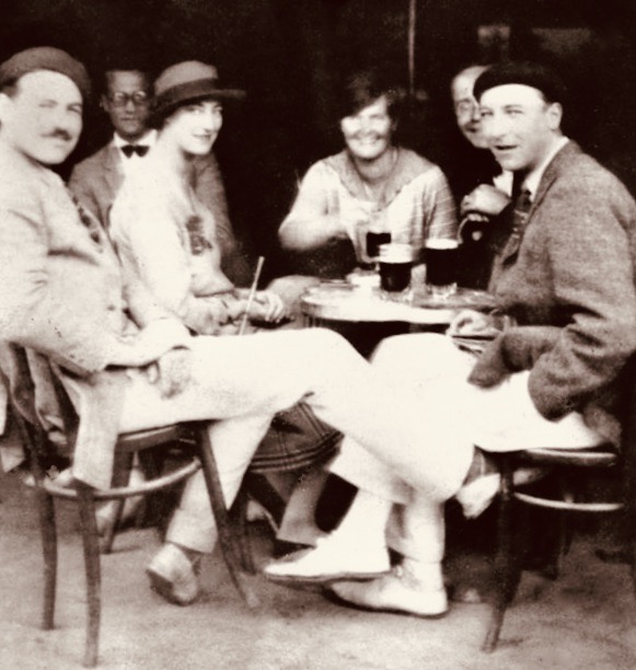 Ernest Hemingway in Pamplona Spain 1925.