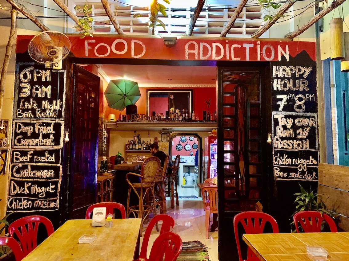 Food Addiction Where to Eat and Drink Kampot