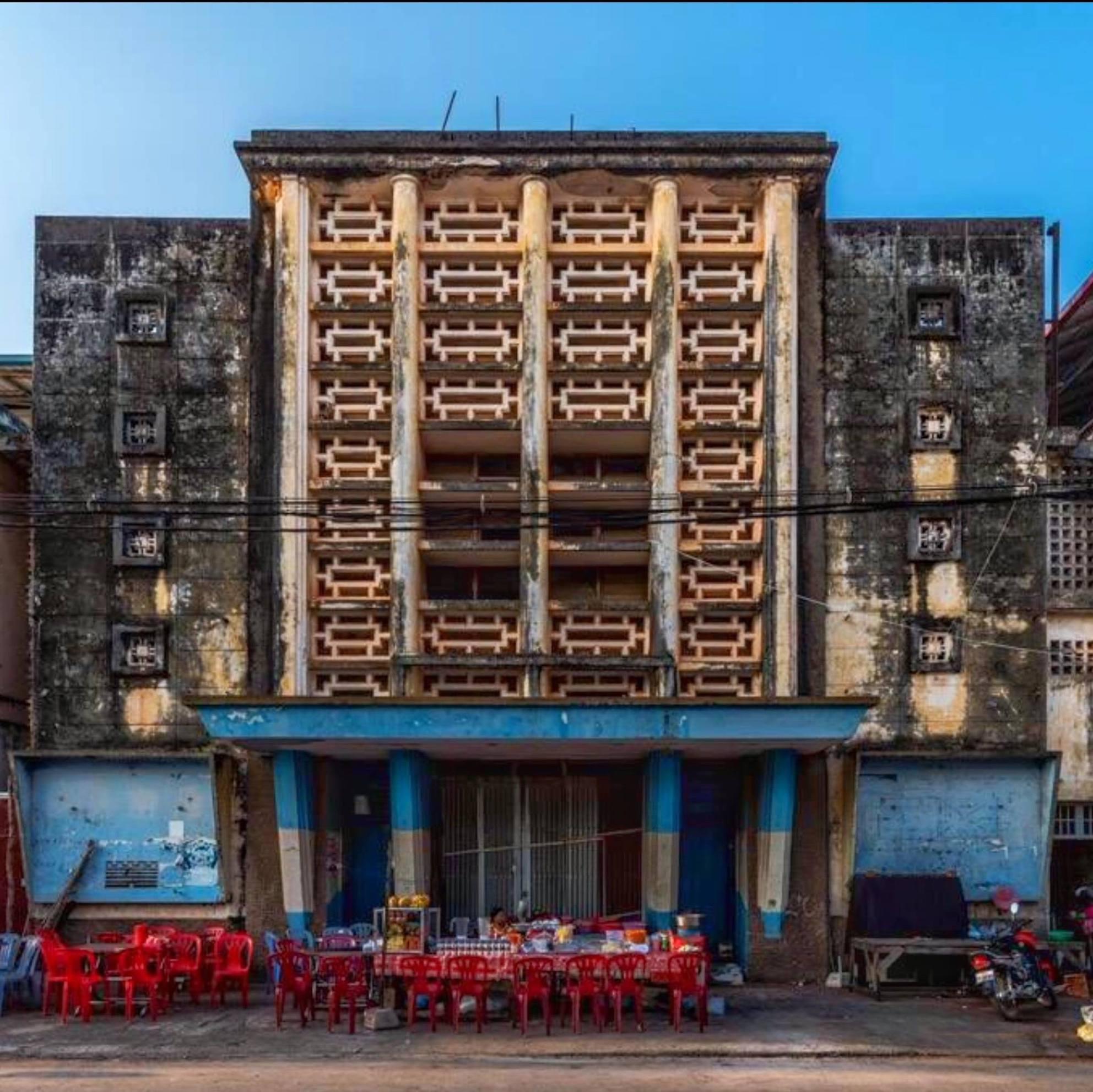 Hotel Old Cinema Kampot 2017.