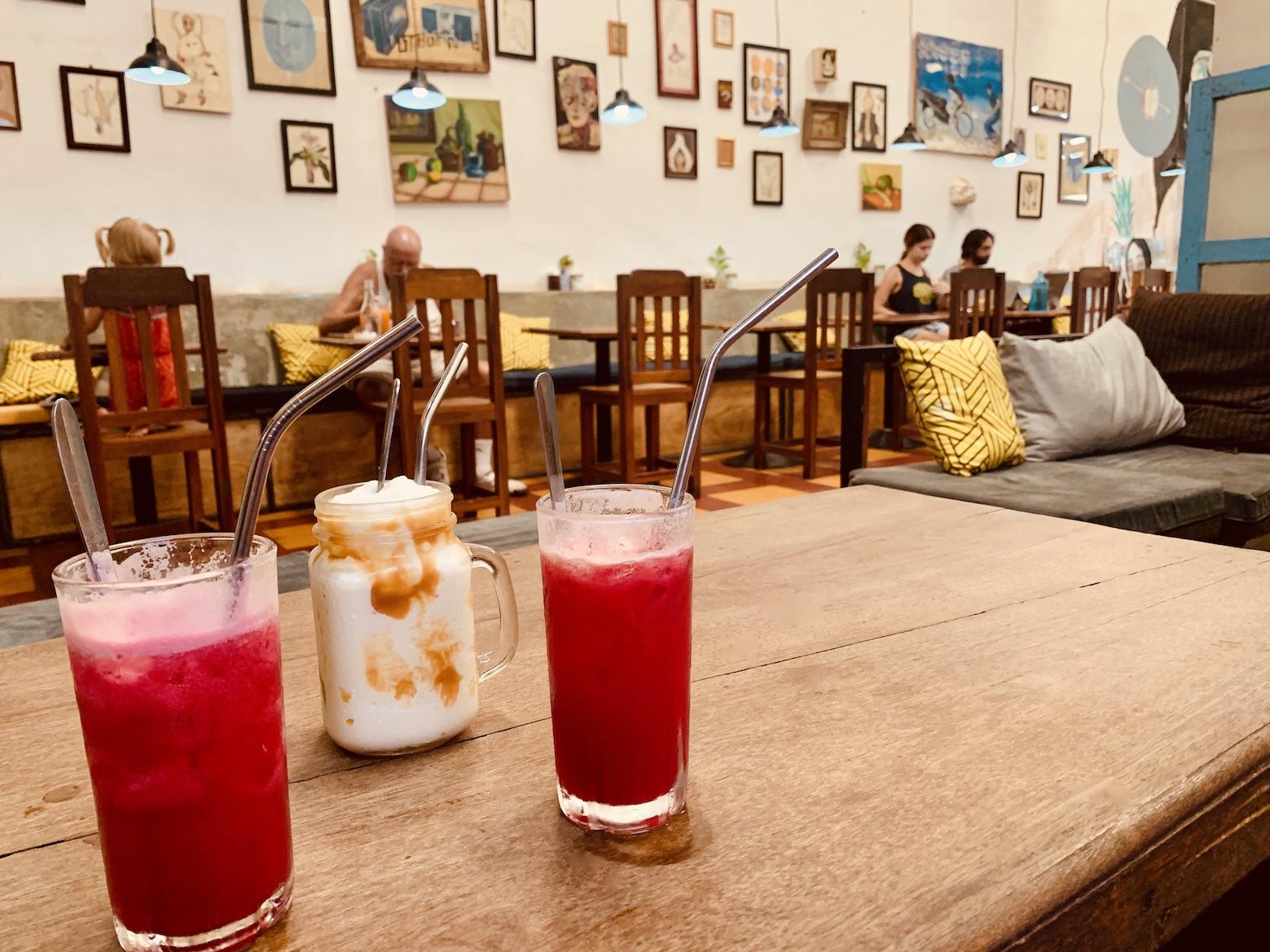 Juices and milkshakes Cafe Espresso Kampot